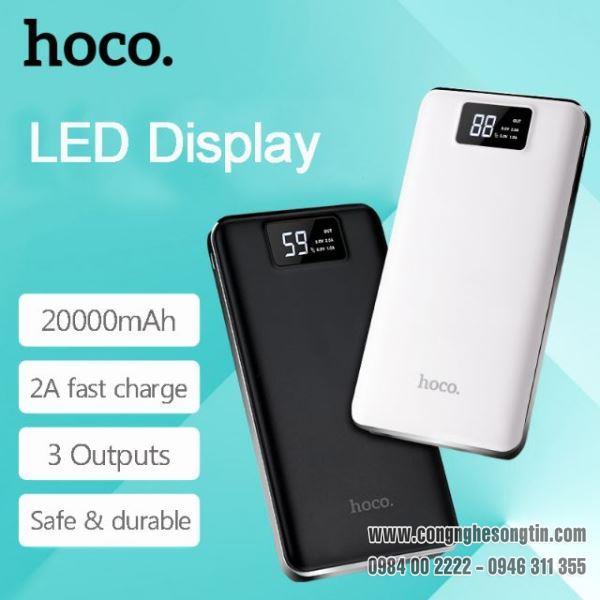 hoco-pin-sac-du-phong-b23b-dung-luong-20000mah-3-cong-usb-co-lcd