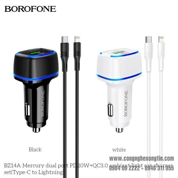 bo-coc-cap-sac-xe-hoi-borofone-bz14a-qc30-bz-14a-cong-type-c-ra-lightning