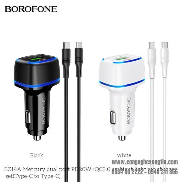 bo-coc-cap-sac-xe-hoi-borofone-bz14a-qc30-bz-14a-cong-type-c-ra-type-c