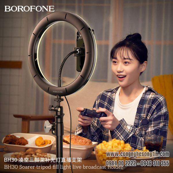 bo-gia-do-dien-thoai-livestream-co-den-led-tripod-borofone-bh30-soarer